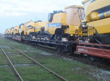 Railway Freight of equipment