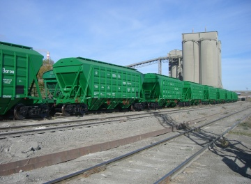 Bulk cargo railway transportation